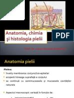 Curs 2. Anatomia Şi Histologia Pielii