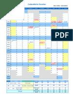 Calendário 14-15
