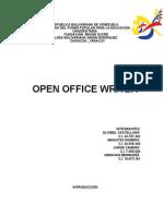Trabajo de OpenOffice Writer UBV