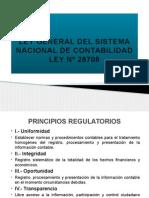 Ley General Del Sistema Nacional de Contabilidad