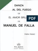 manuel De Falla - Danza Ritual Del Fuego