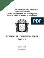 Revista de Investigacion Parte 1