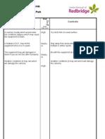 Risk Assessment 3 (St Chads Park)
