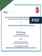 Invitation Vijay Arora