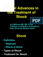 Recent Advances in the treatment of Shock