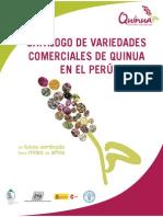 Catalogo de variedades de quinua en el Perú
