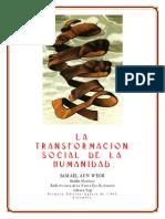 La Transformacion Social de La Humanidad