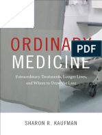 Ordinary Medicine by Sharon R. Kaufman