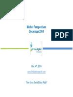 Finlight Research - Market Perspectives - Dec 2014