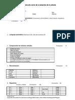 PCA Cuaderno Anotación Protocolo Afasia