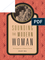 Sounding the Modern Woman by Jean Ma