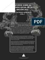 Estado Social de la Nación España 2015