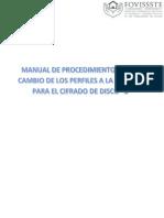 Manual de Procedimiento Para El Cambio de Los Perfiles a La Unidad c Para El Cifrado de Disco