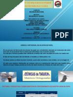 EXPOSICION (ARREGLOS ORTOGONALES)