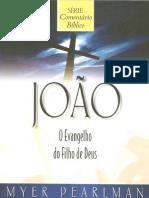 Myer Pearlman - João O Evangelho Do Filho de Deus