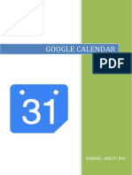 Google Calendar euskaraz