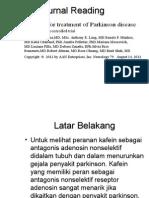 Caffein for Treatment of Parkinson Disease