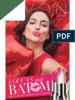 Folheto Avon Cosméticos - 09/2015