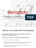 Herodoto, formas de gobierno