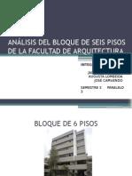 ANALISIS+ESTRUCTURAL FACULTAD DE ARQUITECTURA