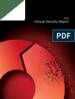 Cisco Annuel Security Report 2015