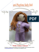 Playtime Sally Doll With Clothes