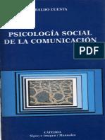 Cuesta Ubaldo - Psicologia Social de La Comunicacion