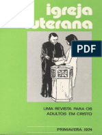 Revista Igreja Luterana 1974 nº4