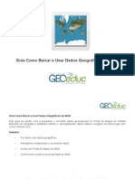 Guia Como Baixar Dados Geograficos Do Ibge