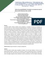 Geoprocessamento Na Análise de Susceptibilidade a Inundação Um Estudo de Caso Da Bacia Do Rio Paciência, São Luís