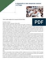 Francisco- Audiencia general 11-2-15 Una sociedad que descarta a sus mayores carece de dignidad.pdf