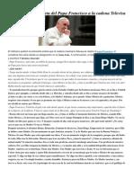 Francisco- Entrevista de Televisa 13-3-15.Docx