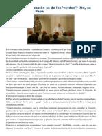 Francisco- Homilía 9-2-15 Custodiar La Creación , Es Cristiano