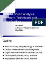 Heart Sound Analysis