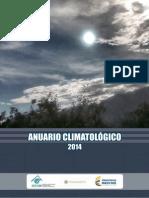 ANUARIO CLIMATOLOGICO 2014 COLOMBIA