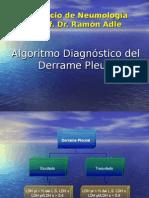 Algoritmo Del Derrame Pleural
