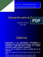 Educacion Para La Salud. Enfermeria