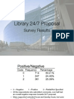 library 24-7 survey presentation