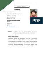 Curriculum Vitae Carta de Presentacion Tercio