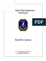 Charleston Police Department body camera policy