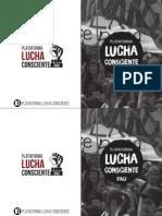 Boletín Plataforma Lucha Conciente