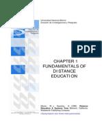 Fundamentos de la Educación a Distancia