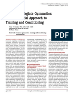 women s collegiate gymnastics  a multifactorial 4