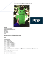 Andy the Android Amigurumi Pattern