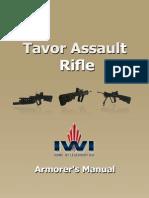 Tavor Assault Rifle Armorer Manual