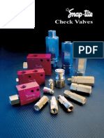 Snap-tite Check Valves