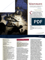 DnD 4.0th - Warforged - Traduzido para português