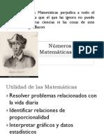 Presentacion Matematicas Numeros Enteros Primero ESO