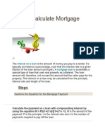 How to Calculate Mortgage Interest