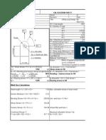 Lift Lug spreadsheet